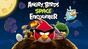 Angry Birds Space Encounter no Kennedy Space Center