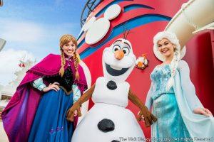 """No deque do navio, no palco e além, """"Frozen"""" inspira novas atrações em Disney Cruise Line"""