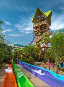 Acaba de ser inaugurada a Ihu's Breakaway Falls, nova atração do Aquatica Orlando