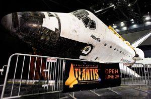 Mais informações sobre a atração Atlantis do Kennedy Space Center