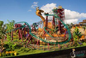 Busch Gardens Tampa (FL) revela detalhes da Cobra's Curse