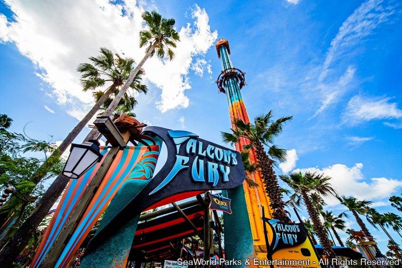 Falcon's Fury é inaugurada no Busch Gardens Tampa