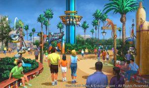 Busch Gardens Tampa (FL) divulga como serão os restaurantes e a loja da nova área Pantopia