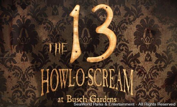 Halloween do Busch Gardens Tampa apresenta nova atração assustadora