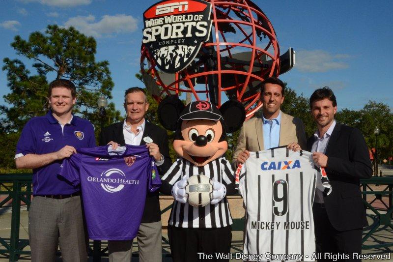 Potências do futebol brasileiro e alemão se encontram em janeiro na Disney para a Florida Cup