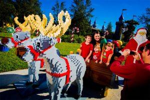 Christmas Bricktacular e Kids' New Year's Eve Bash retornam em dezembro no Legoland Florida
