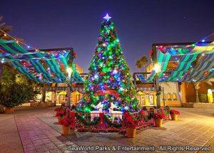 Já foram divulgadas as datas do evento Christmas Town do parque Busch Gardens Tampa