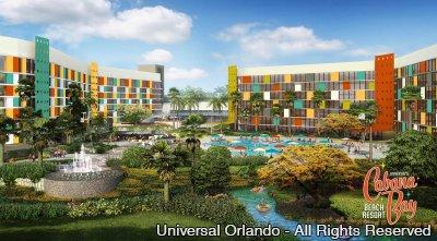Universal's Cabana Bay Beach Resort já está aceitando reservas