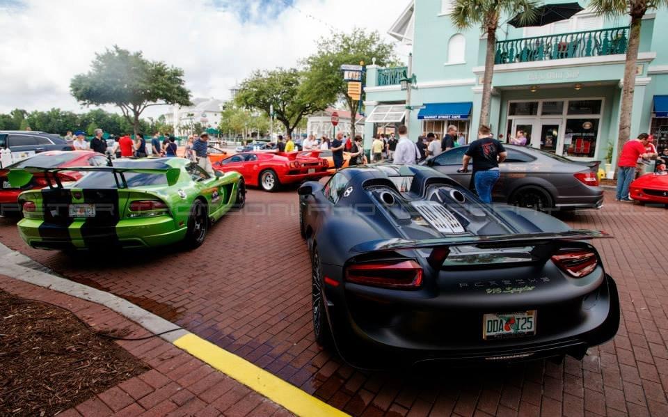 O Celebration Exotic Car Festival será realizado de 06 a 09 de abril de 2017