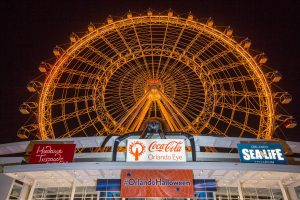 Coca-Cola Orlando Eye lança Spooky Nights and Spider Frights Halloween Experience