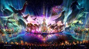 Mais informações sobre o show Rivers of Light Nighttime Spectacular que estreia em 2016