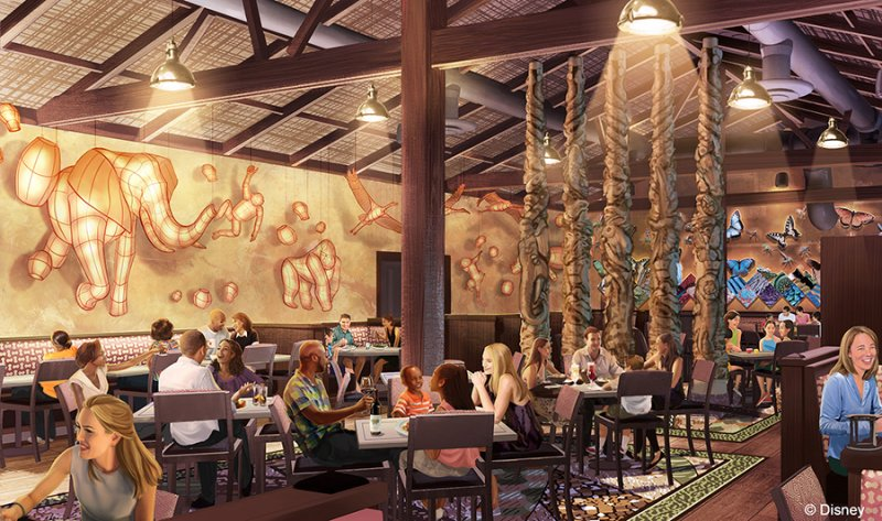 Tiffins Signature Restaurant chega ao parque Disney's Animal Kingdom em 2016