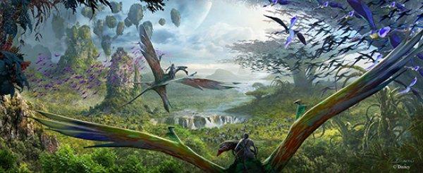 Conheça mais alguns detalhes da nova área temática Pandora – The World of AVATAR