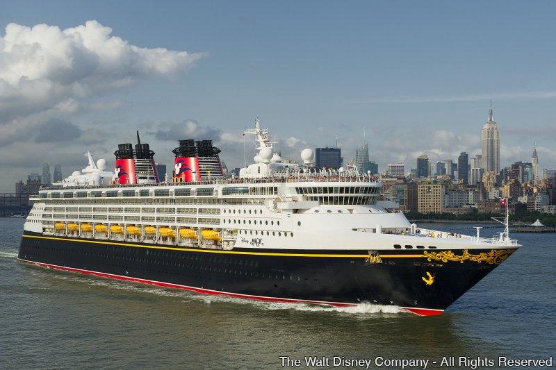 Disney Cruise Line volta a navegar para Nova Iorque, Miami e Galveston em 2016