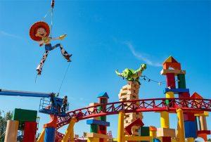 Jessie e Rex já estão em Toy Story Land no parque Disney's Hollywood Studios