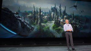 A nova área temática inspirada em Star Wars será inaugurada em 2019 no parque Disney's Hollywood Studios