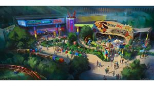 A nova área temática inspirada em Toy Story será inaugurada no verão americano de 2018