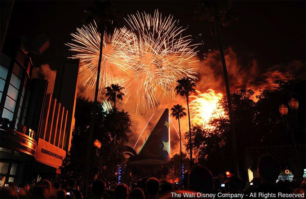 Festividades em celebração ao Dia da Independência dos EUA em Walt Disney World Resort