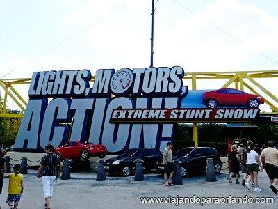Lights, Motors, Action! Extreme Stunt Show irá fechar definitivamente em 02 de abril de 2016