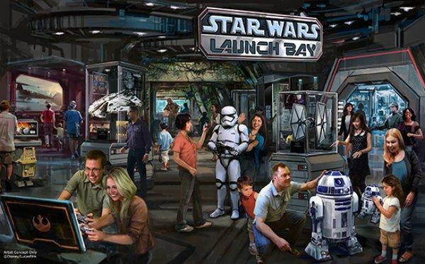 Novas experiências inspiradas em Star Wars estão chegando ao parque Disney's Hollywood Studios