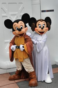 Duas novas refeições com personagens durante o Star Wars Weekends