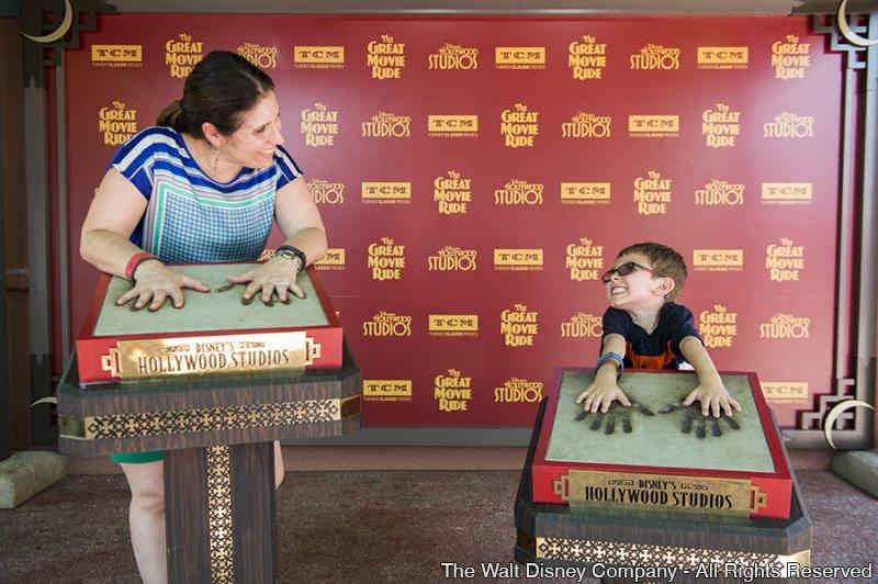 Nova experiência para fotos na atração The Great Movie Ride