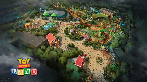 Toy Story também terá a sua área temática exclusiva no parque Disney's Hollywood Studios