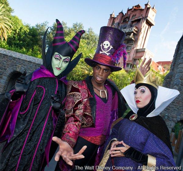 Os vilões da Disney esperam você no Disney's Hollywood Studios por conta da campanha Limited Time Magic no dia 13 de setembro de 2013