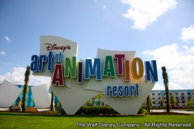 Disney's Art of Animation Resort – Inauguração