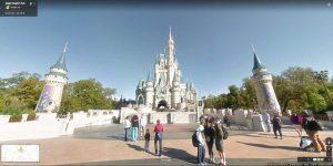 Você já pode passear pelos parques da Disney utilizando o Google Street View