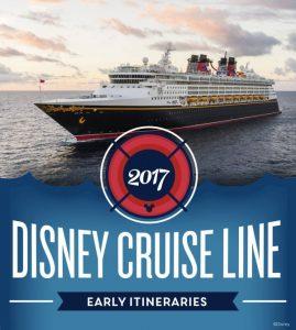 Disney Cruise Line anuncia itinerários para 2017