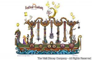 Divulgado vídeo sobre os bastidores da criação dos carros da parada Festival of Fantasy