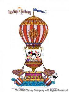 Disney Festival of Fantasy Parade será a nova parada do Magic Kingdom em 2014