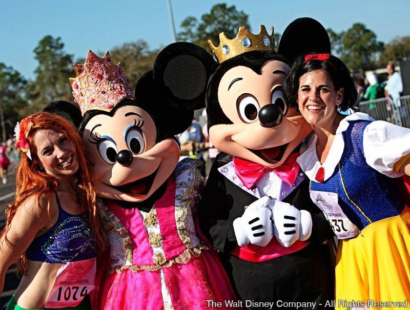 Disney Princess Half Marathon Weekend será realizada durante o período de 19 a 22 de fevereiro de 2015