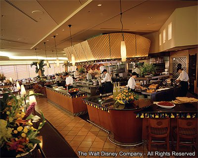 As opções de refeição são sempre diferentes no Walt Disney World Resort