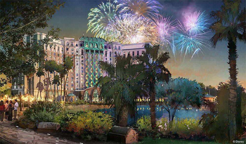 A Disney anunciou a expansão do Disney's Coronado Springs Resort e Disney's Caribbean Beach Resort