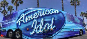 O ônibus do American Idol estará em Disney Springs no dia 17 de agosto de 2017