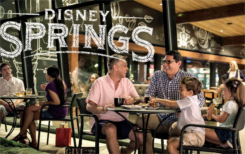 Downtown Disney passa a ser oficialmente Disney Springs