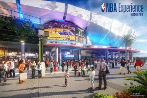 NBA Experience será inaugurada em Disney Springs no verão americano de 2019