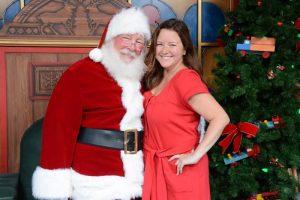 Papai Noel já está recebendo os convidados em Disney Springs Marketplace
