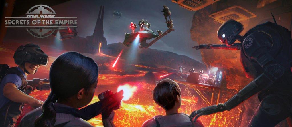 Já é possível adquirir ingressos para a experiência Star Wars: Secrets of the Empire