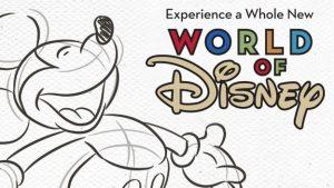 A loja World of Disney passará por reformas a partir de fevereiro