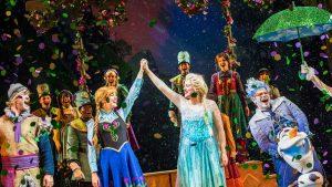 Frozen, A Musical Spectacular chega ao palco em navio da Disney Cruise Line