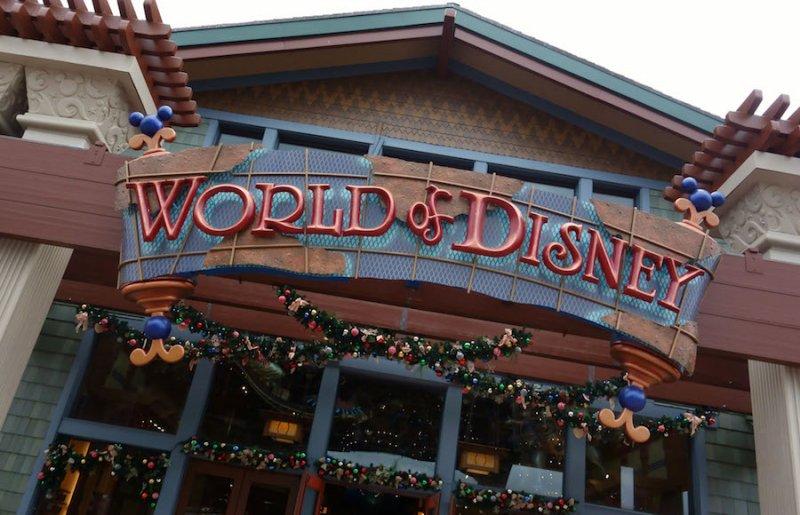 A loja World of Disney de Disney Springs foi ampliada e aprimorada