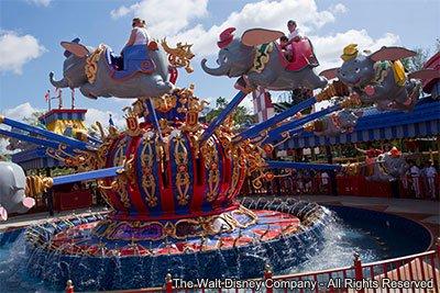Em fase de testes o segundo carrossel do Dumbo