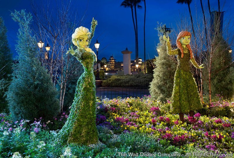 Começa no dia 4 de março a 22ª edição do Epcot International Flower & Garden Festival
