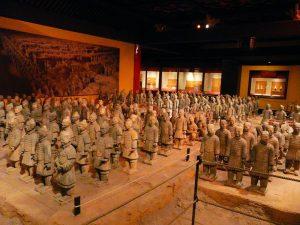 A exibição The Tomb Warriors do pavilhão da China irá fechar no dia 02 de maio de 2016