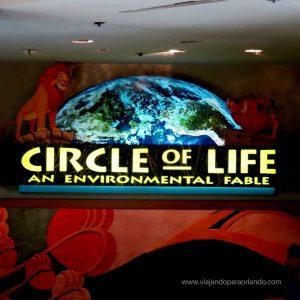 A atração Circle of Life do Epcot irá fechar definitivamente no dia 03 de fevereiro de 2018