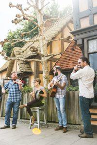 Quickstep passa a se apresentar no pavilhão do Reino Unido no Epcot