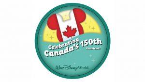 O Epcot está celebrando os 150 anos do Canadá com um broche especial comemorativo